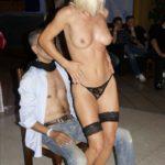 Strip-tease brûlage de culotte Liège Bruxelles
